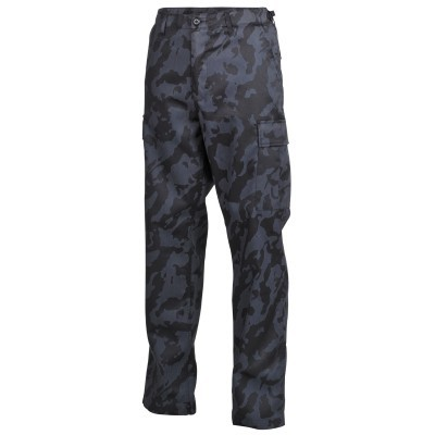 Legerbroek klassiek  night camo 01324K
