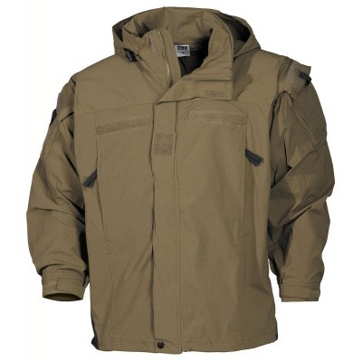 US soft shell jas coyote   GEN III level 5  03401R
