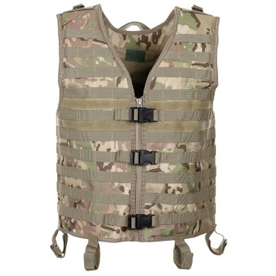 Tactical vest Molle light  operation camo 04613X