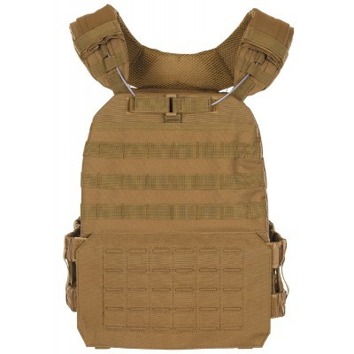 Tactical vest Laser Molle coyote 04623R