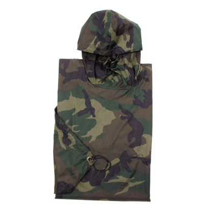 Poncho Rip stop woodland  08524T